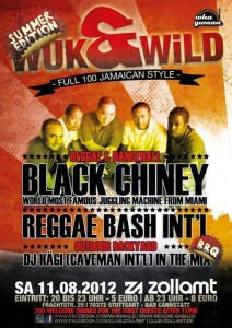 Dancehall Reggae Radio News [LIVESTREAM]   2012 08 11   WuknWild pres. Black Chiney